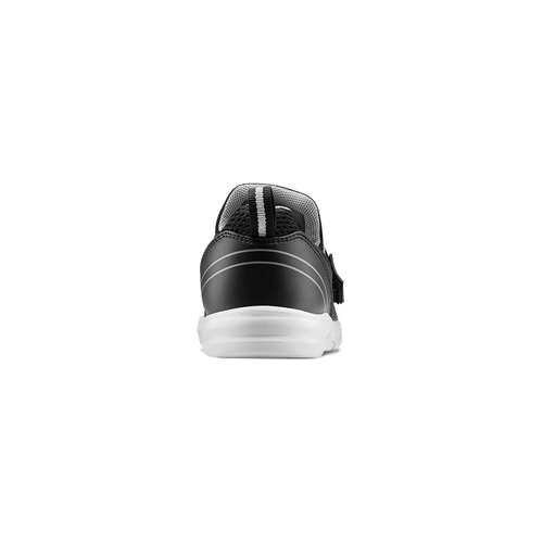 Sneakers da bimbo senza lacci mini-b, nero, 319-6152 - 15