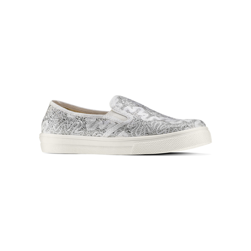 Slip on da bambina mini-b, argento, 329-1327 - 13