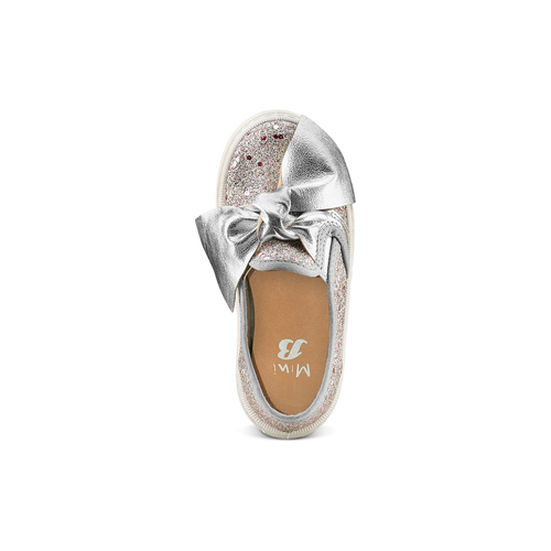 Slip on con fiocco mini-b, rosa, 229-5184 - 17