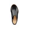 Sandali con zip bata, nero, 721-6254 - 17