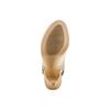 Sandali con tacco alto bata, beige, 724-2187 - 19