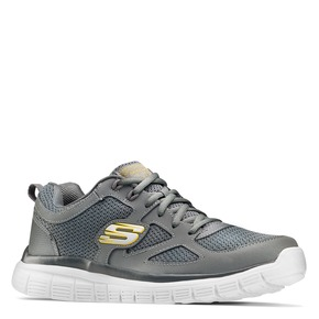 Skechers Burns Agoura Charcoa skechers, grigio, 809-2805 - 13