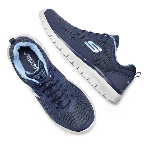 Skechers Burns Agoura skechers, blu, 809-9805 - 26
