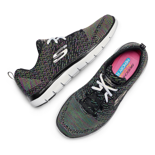 Skechers Flex Appeal skechers, nero, 509-6530 - 26