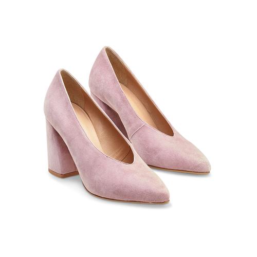 Décolleté rosa con scollo a V bata, rosa, 723-5239 - 16
