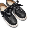 Sneakers senza lacci da bambina mini-b, nero, 321-6307 - 26