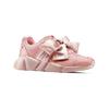 Sneakers rosa con lacci in satin bata, rosa, 549-5202 - 13