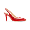 Sling back Insolia insolia, rosso, 724-5196 - 13