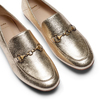 Mocassini eleganti da donna bata, oro, 514-8170 - 26
