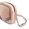 Tracolla con trafori bata, rosa, 961-5248 - 15