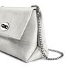 Minibag in vera pelle bata, bianco, 964-1249 - 15