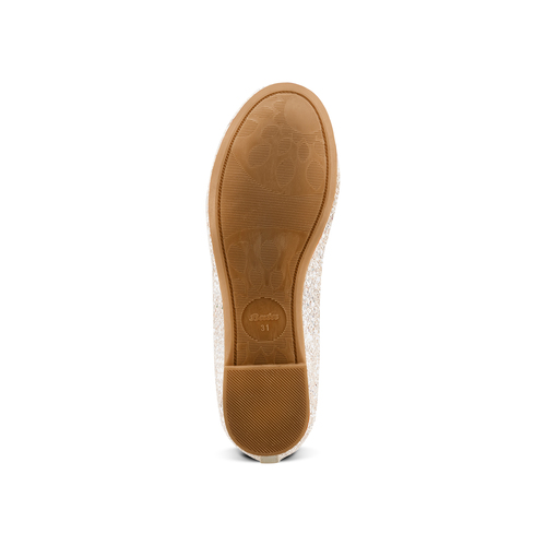 Ballerine con nastro alla caviglia mini-b, bianco, 329-1219 - 19