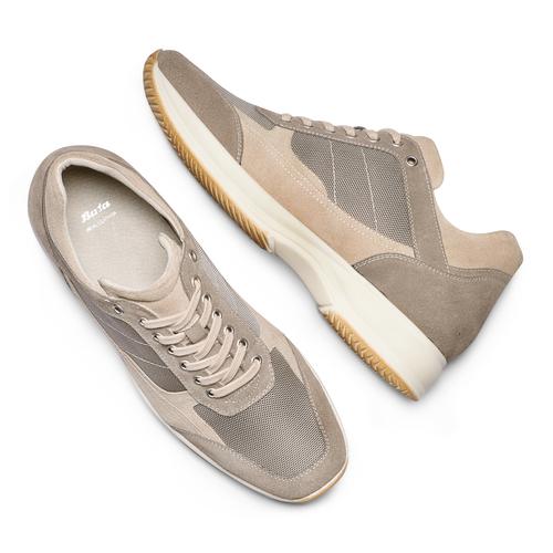 Sneakers casual da uomo bata, beige, 849-8162 - 26