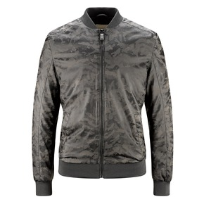 Bomber da uomo camouflage bata, grigio, 971-7197 - 13
