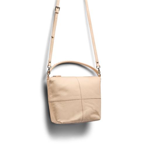 Hobo bag in pelle bata, bianco, 964-1121 - 17