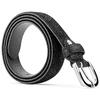 Cintura in vera pelle bata, nero, 954-6131 - 26