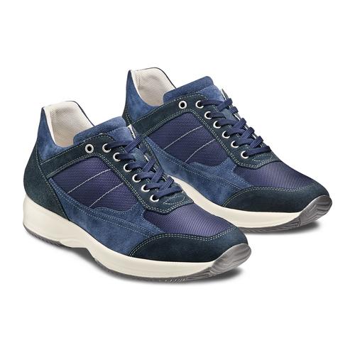 Sneakers casual da uomo bata, blu, 849-9162 - 16