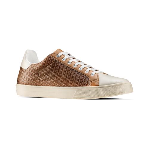 Sneakers da uomo bata, marrone, 841-3338 - 13