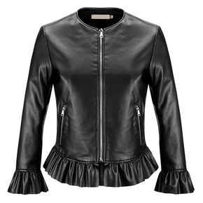 Giacca corta da donna bata, nero, 971-6209 - 13