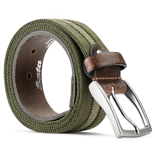 Cintura da uomo bata, verde, 959-7330 - 26
