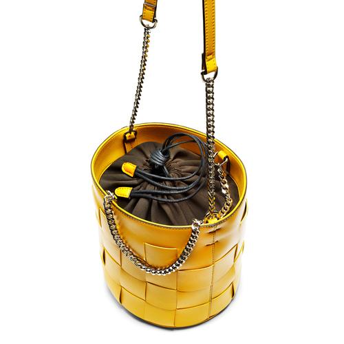 Secchiello da donna bata, giallo, 961-8233 - 17