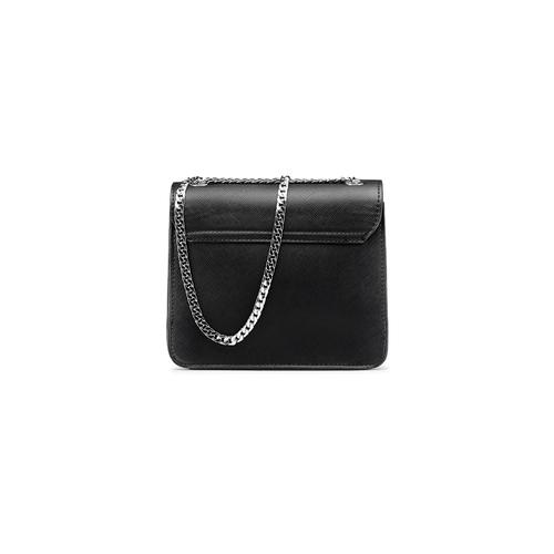 Borsa elegante con applicazioni bata, nero, 961-6249 - 26