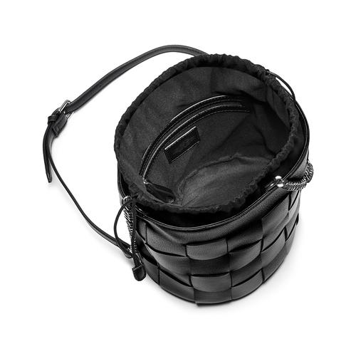 Borsa a secchiello bata, nero, 961-6233 - 16