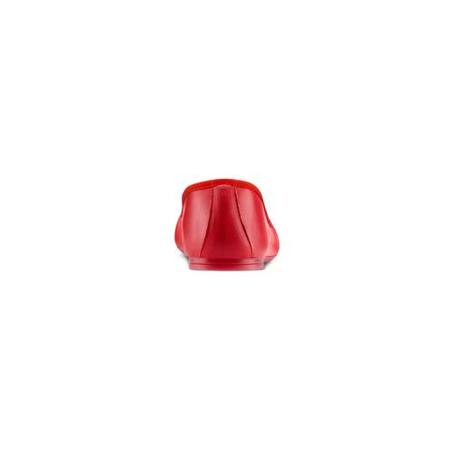 Ballerine da donna bata, rosso, 524-5144 - 15