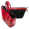 Shopper con trafori bata, rosso, 961-5220 - 17
