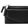 Portafoglio con tasca frontale bata, nero, 941-6168 - 15