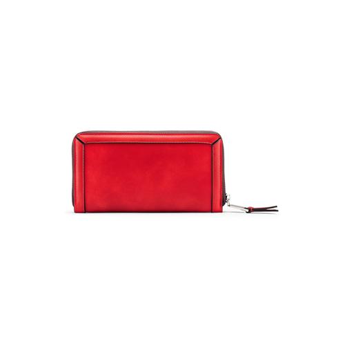 Portafoglio da donna bata, rosso, 941-5164 - 26