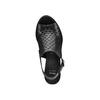 Sandali in pelle bata, nero, 764-6161 - 17