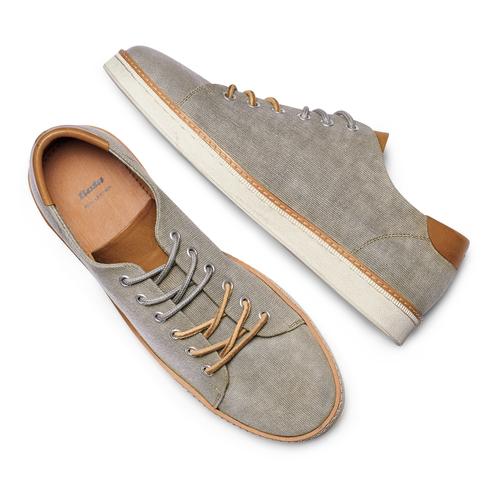 Sneakers casual  bata, grigio, 849-2346 - 26