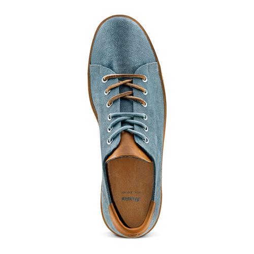 Sneakers casual  bata, blu, 849-9346 - 17