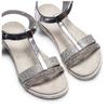 Sandali da bambina mini-b, argento, 361-1171 - 26