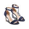 Sandali Celine  insolia, blu, 769-9154 - 16