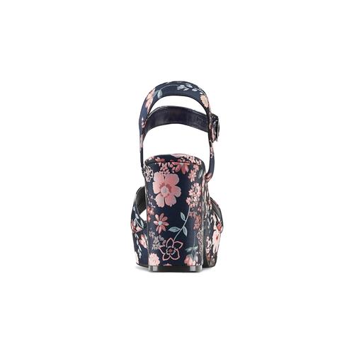 Sandali con inserti floreali bata-rl, rosa, 769-5328 - 15