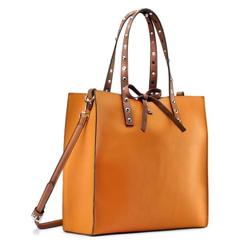 Shopper rigida bata, marrone, 961-3296 - 13