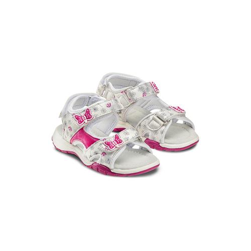 Sandali da bimba mini-b, grigio, 261-2192 - 16