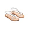 Sandali in pelle mini-b, bianco, 364-1126 - 16