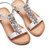 Sandali in pelle mini-b, bianco, 364-1128 - 26