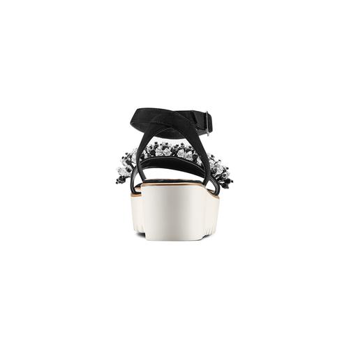 Sandali con perline bata, nero, 669-6283 - 15