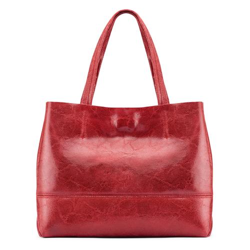 Borsa a spalla bata, rosso, 964-5357 - 26