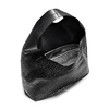 Hobo bag con trafori bata, nero, 961-6270 - 16