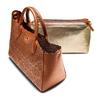 Borsa a mano bata, marrone, 961-3265 - 17