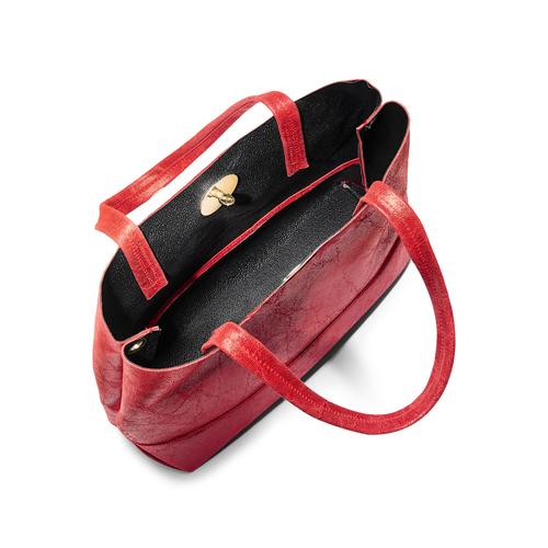 Borsa a spalla bata, rosso, 964-5357 - 16