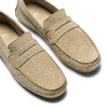 Mocassini in suede bata, beige, 853-8171 - 26