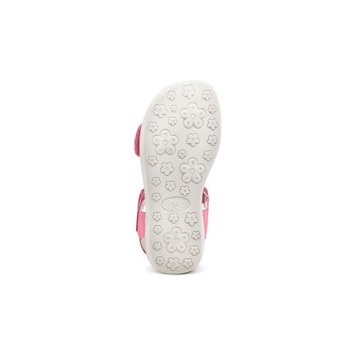 Sandali da bambina mini-b, rosa, 261-5144 - 19