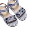 Sandali con stelle mini-b, viola, 261-9211 - 26