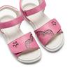 Sandali da bambina mini-b, rosa, 261-5144 - 26